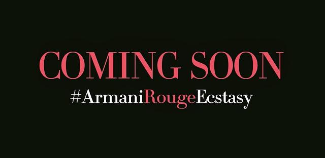 Giorgio Armani Rouge Ecstasy: video teaser dei nuovi rossetti CC Lipstick