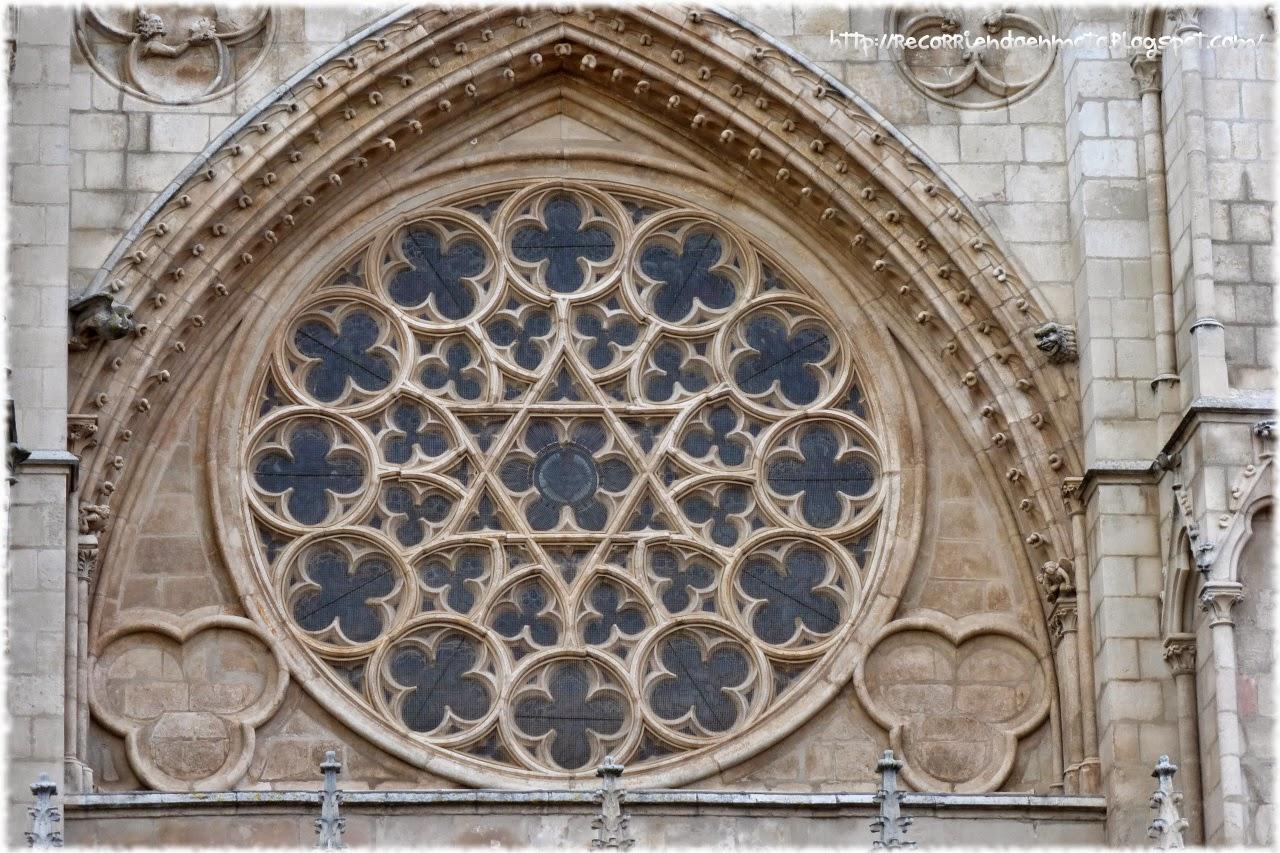 Rosetón catedral Burgos