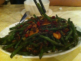 Stitch and Bear - Spicy fried green beans at Mandarin House, Dublin