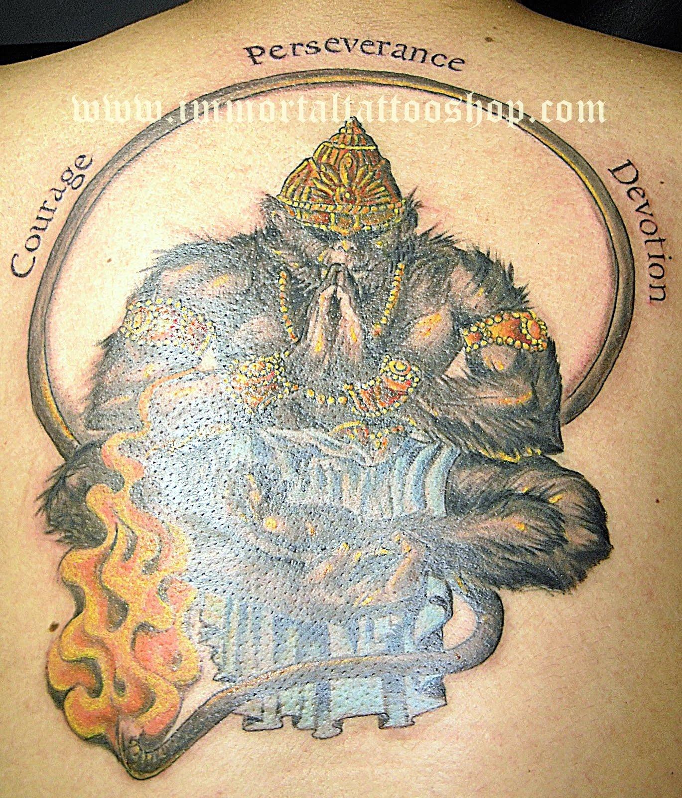 immortal tattoo manila philippines by frank ibanez jr indian hanuman gods tattoo. Black Bedroom Furniture Sets. Home Design Ideas