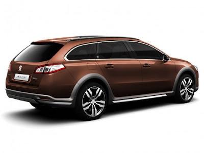2012-Peugeot-508-RXH-Rear-Side