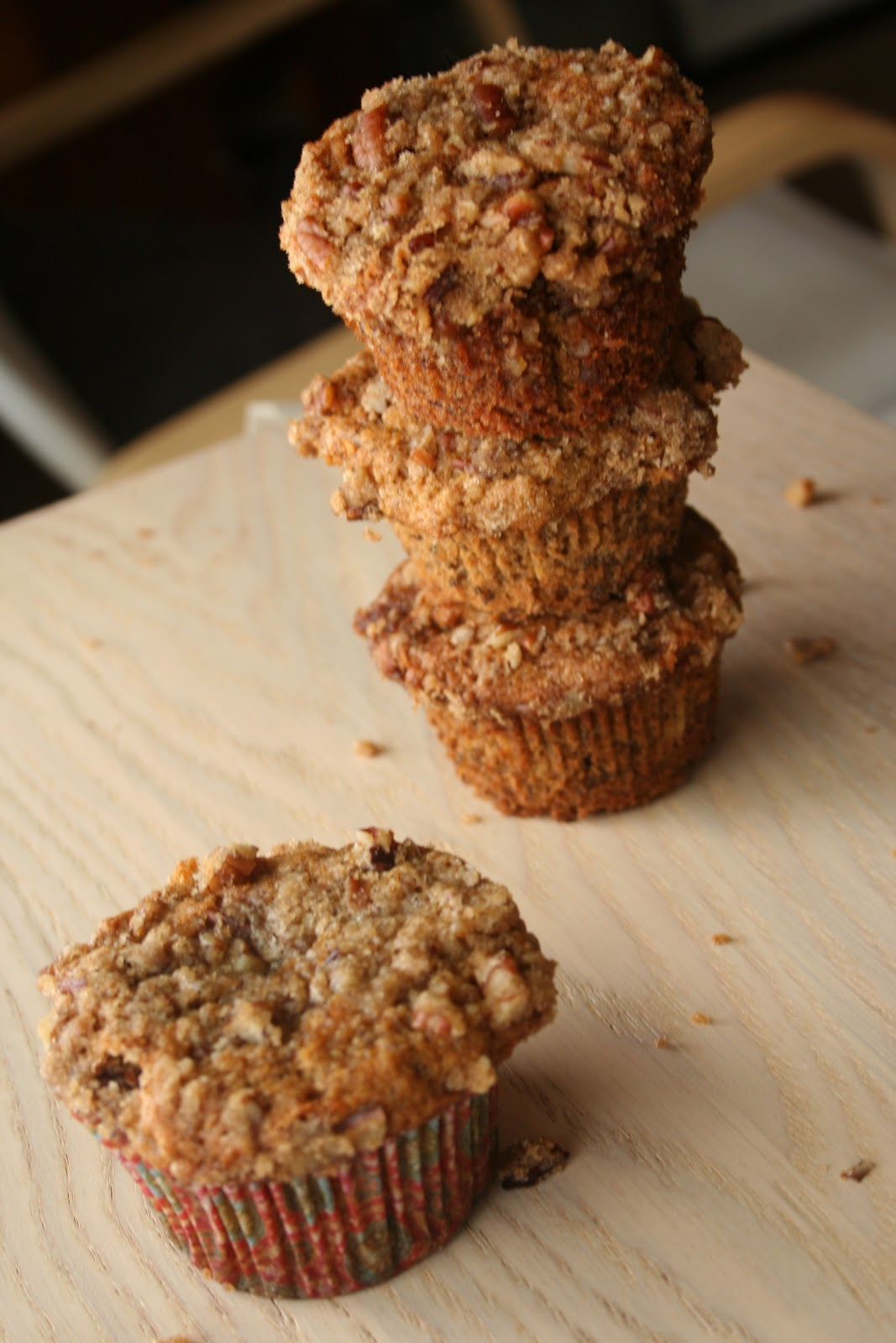 maple banana nut muffins makes 10 12 standard muffins 3 very ripe ...