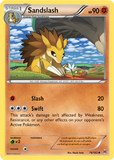 Sandslash BREAKthrough Pokemon Card