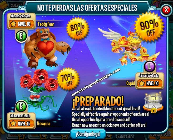 imagen de la oferta especial de monster legends de monster legends