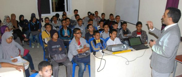 زاكورة : جمعية تيغرمت للتنمية بتازارين تنظم دروس الدعم والتقوية الْـمَجَّانِيَّة لفائدة تلميذات و تلاميذ المنطقة