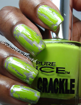 Pure Ice Crackle Polish