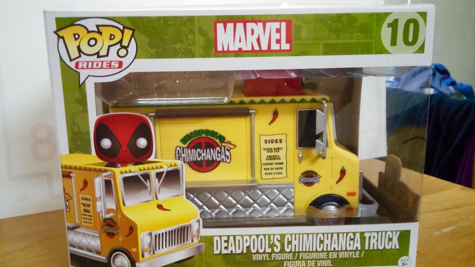 Thebackingboardfiles Got Me A Deadpool Chimichanga Truck Pop