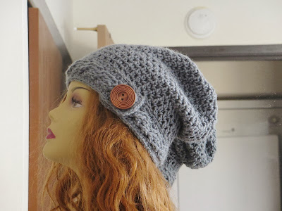Cable Hat Crochet Pattern - Crochet Cable Beanie Pattern