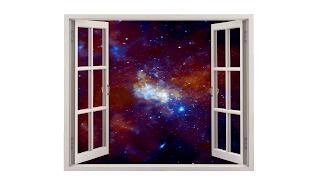 Da minha janela vejo os mistérios do universo