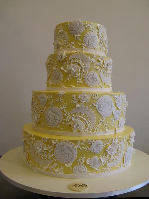 My perfect wedding cake: Sylvia Weinstock Cakes