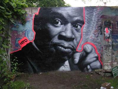 Graffiti Street Art by MTO Seen On www.coolpicturegallery.us