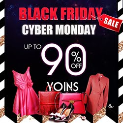 Catálogo yoins pretos no catálogo Friday e Cyber segunda-feira