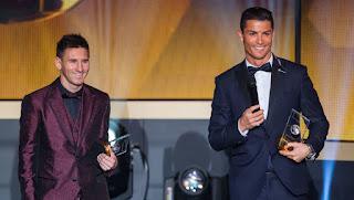 Ronaldo: Aku Yakin Messi Pasti Menangkan Ballon D'or