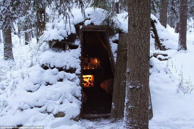Some might find these conditions to be rough or brutal, but others (including myself) see them as therapeutic and recreational. - This Lodge In Sweden Helps You Relax By Giving You Really Hard Work.