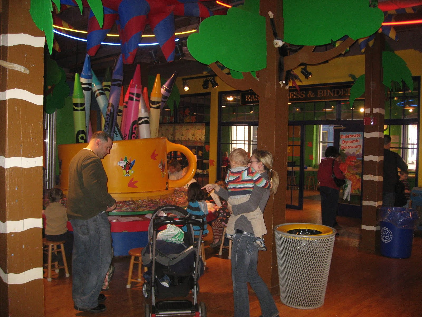 jj s travels easton and the crayola factory and canal museum