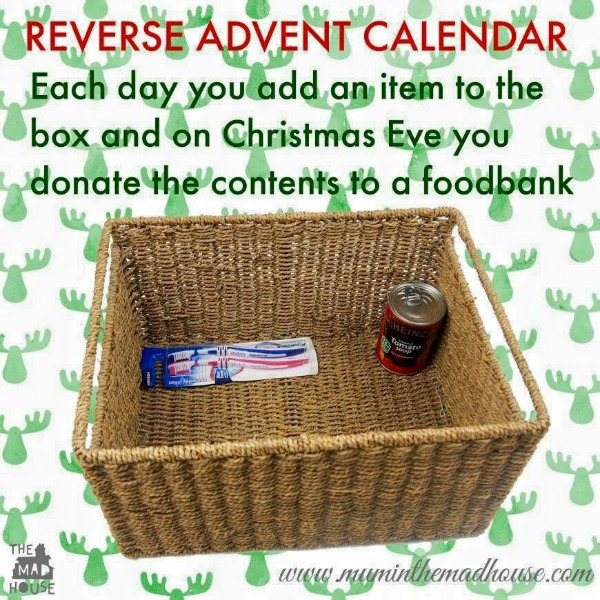 advent calendar giving