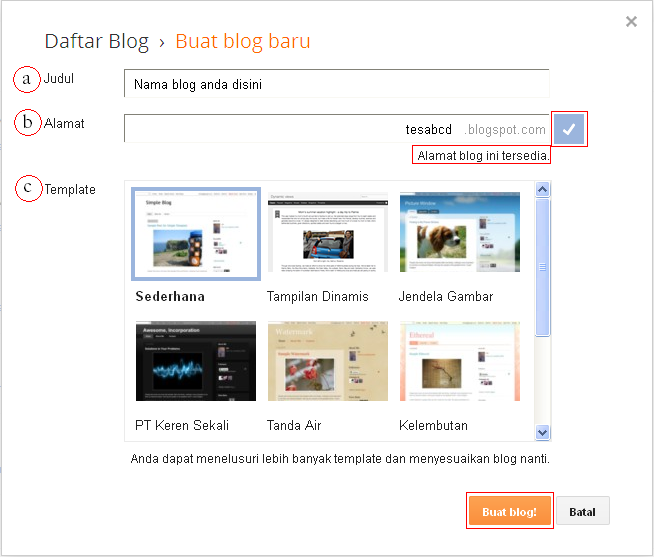 blog,blogger,google,tutorial,blogging,create blog,membuat blog