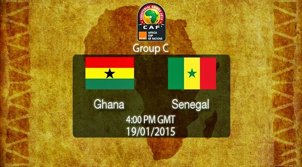 Ghana VS Senegal live can 2015