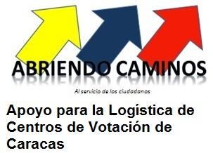 Apoya La Logística de Centros de Votación
