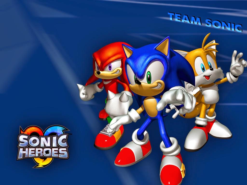 تحميل لعبة sonic heroes