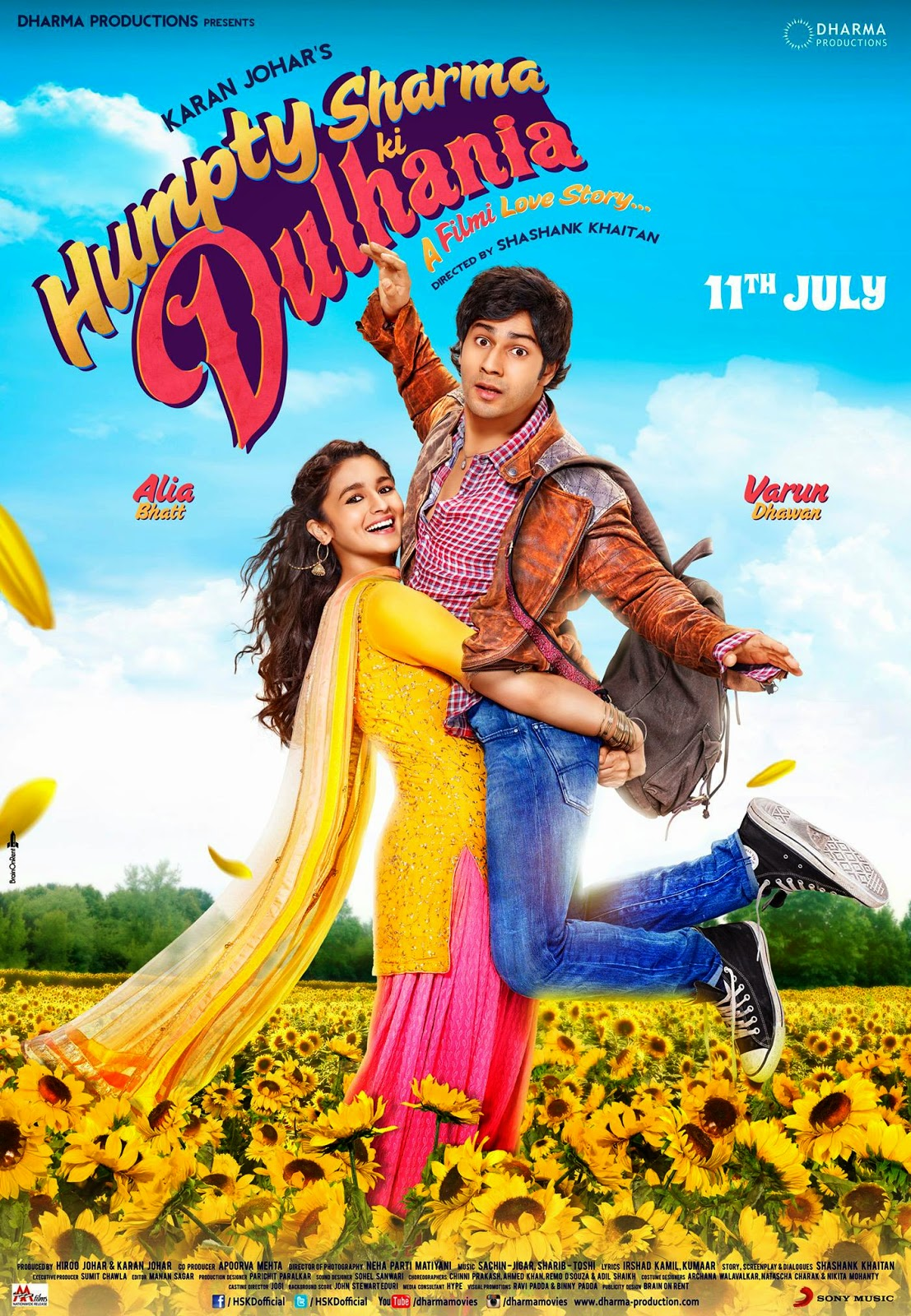 Humpty Sharma Ki Dulhania poster watch online full movie free download 2014.