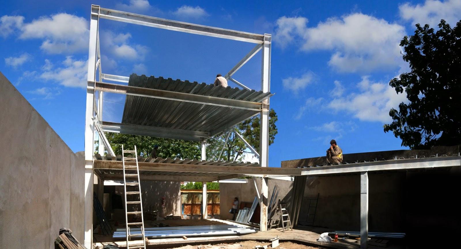 Estudios para el habita r t work in progress casa - Casas estructura metalica ...