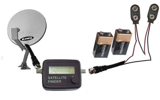 Apontar antenas sem usar receptor ou cabos