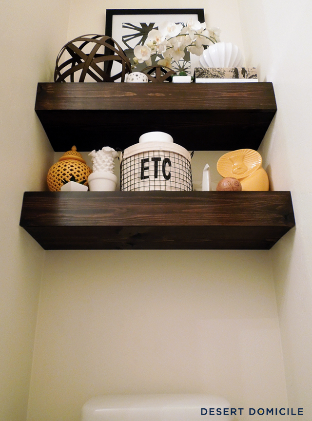 put anything on the shelves just
