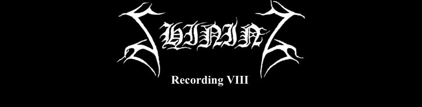 Shining studio diary 2012 - Recording VIII
