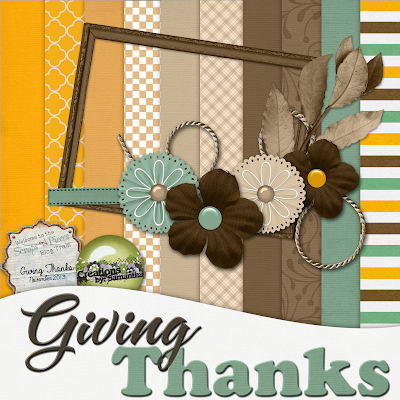 "★ SNP Blogtrain: ""Giving Thanks"""
