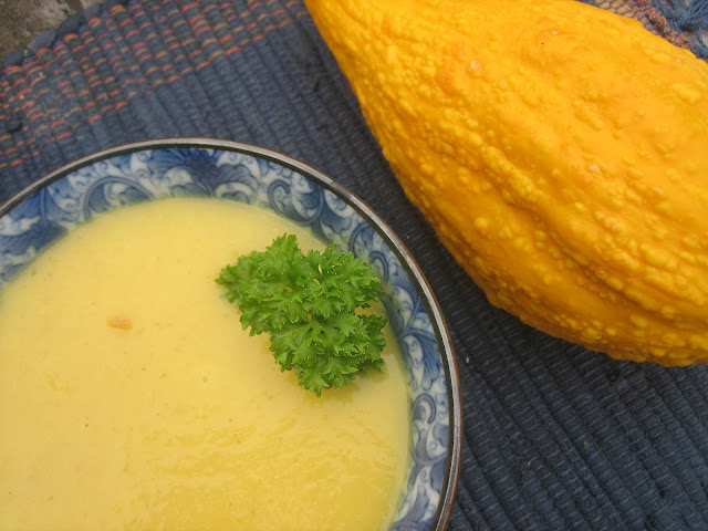 Pureed Pzazz: Simple Summer Squash Soup