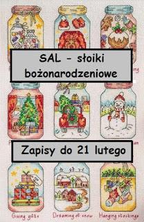 bożonarodzeniowy SAL-cz.1