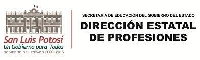 Dirección General de Profesiones de San Luis Potosí