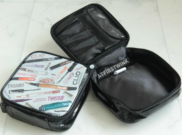 Clio cosmetics bags