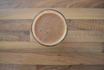 Recipe | Healthy Vegan Chocolate Milkshake