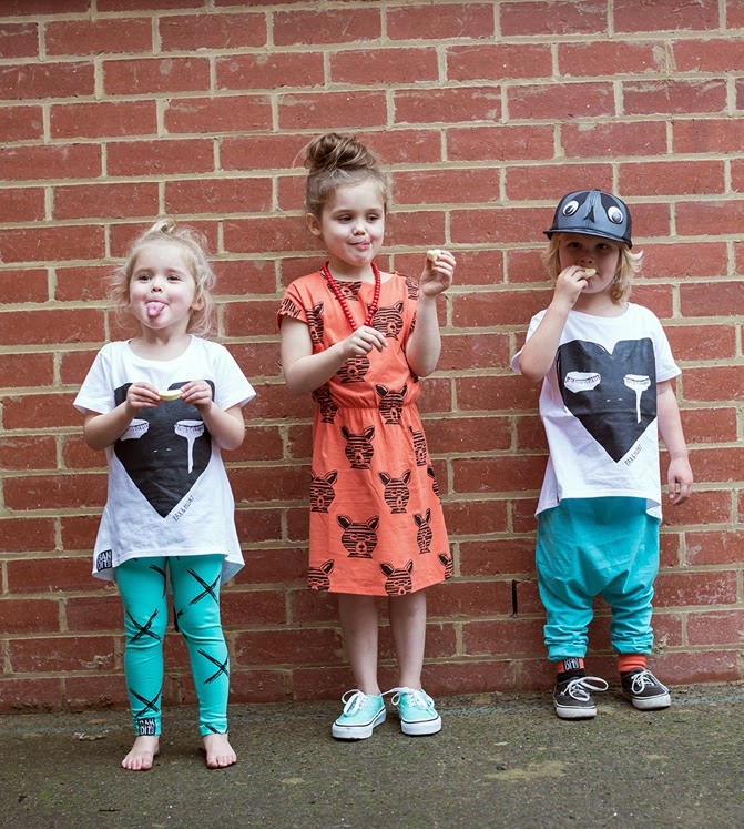 Bandit Kids indie/skate style - SS14/15 kidswear collection