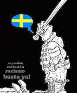 """http://www.facebook.com/pages/Anarquistas/378066755607147 Racismo institucional en Suecia Suecia tiene una larga tradición de control de sus ciudadanos. Fue el primer Estado en tener una autoridad estadística, en 1756, y en 1921 inauguró el Instituto Estatal de Raza y Biología. El objetivo era estudiar, mantener y proteger """"la raza sueca"""".  Durante dos años, el instituto recopiló información sobre 100.000 personas para establecer las características de los suecos, """"una de las razas germánicas más puras"""". El instituto cambió de nombre y de orientación en 1958. En el año 1934 el Gobierno emprendió un control sobre los romaníes que habitaban el país y el mismo año entró en vigor la ley de esterilización obligatoria. Ley que se amplió en 1941 para que se pudiera aplicar con mayor facilidad sobre el pueblo romaní. Esterilización obligatoria No se sabe con exactitud cuántas personas fueron esterilizadas. Los romaníes no podían emigrar a Suecia según una ley de 1914 que fue derogada en 1954. Estaban anotados en un registro llamado Z (de zigenare, gitanos), carecían de derechos y no pudieron votar hasta 1960. En 1975, los registros Z fueron anulados oficialmente. Finalmente, en el 2000 gitanos romaníes fueron reconocidos como una minoría étnica en Suecia. El Estado sueco ha sido un enemigo beligerante de los romaníes y es en este contexto en el que hay que situar el enorme revuelo que produjo la noticia publicada por Dagens Nyheter['Noticias del día'], de la mano del periodista Niklas Orrenius, según la cual la policía sueca tiene una base de datos con 4.029 gitanos fichados. Un registro en el cual se detallan los lazos familiares de los mismos. Mil de estas personas son niños y, de estos niños, 52 tienen en torno a dos años. El registro fue encontrado en el sistema informático de la policía de Escania (el sur de Suecia) pero hay pruebas de que ha sido usado por la policía de otros lugares del Estado. La primera reacción de la policía fue negar el hecho, pero, ante las prue"""