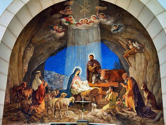 Jesusvalmeyana bel n la cueva la estrella y el pesebre for Nacimiento belen