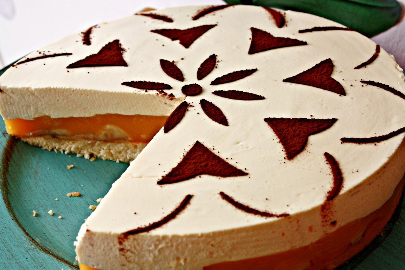 Maracuja Bananen Torte mit Eierlikör Topping