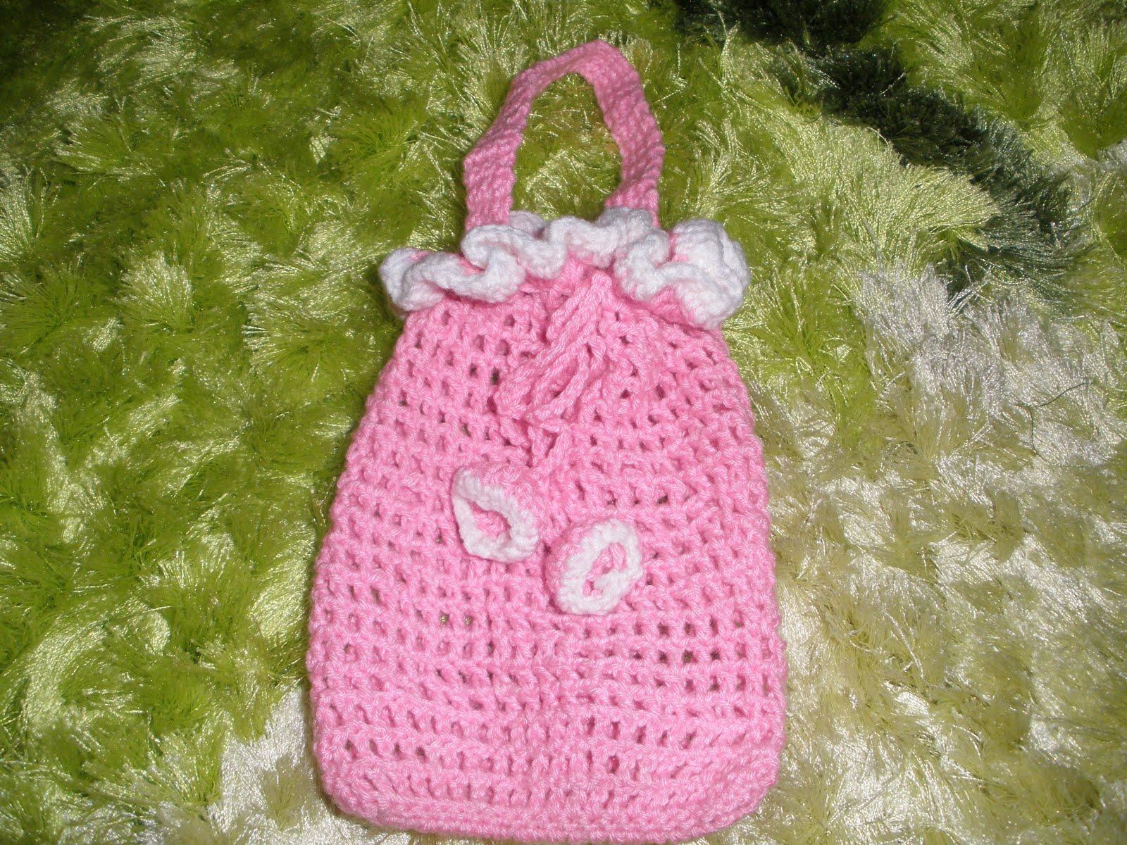 Crochet Sachet Bags : Rose Garden Crochet: Crochet Sachet Bags