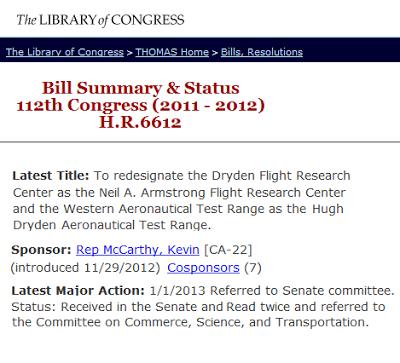 NASA Legislation