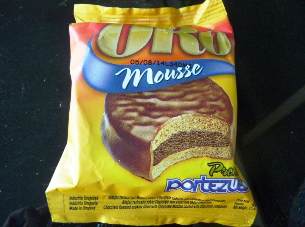 Alfajor Oro Mousse de Portezuelo