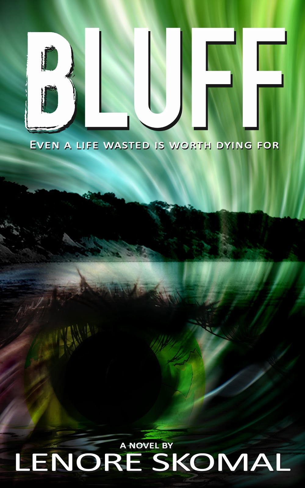 Book Review And Giveaway: Bluff By Lenore Skomal