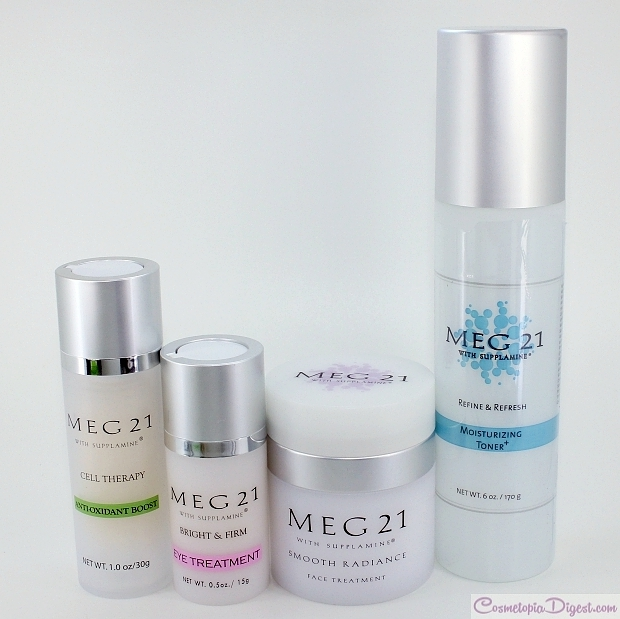 MEG21 Skincare Routine 28-day Challenge results