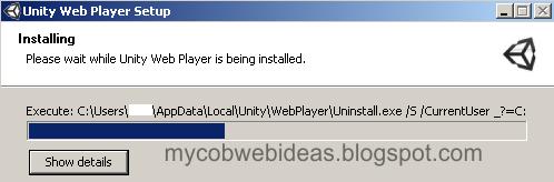 Unity Web installing