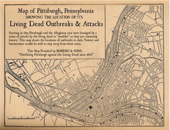 Pittsburgh Zombie Outbreaks