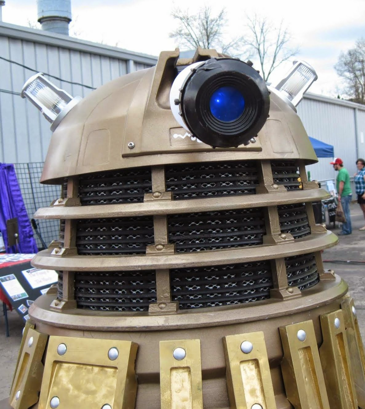 """Photo Op with """"The Dalek""""!"""