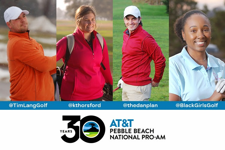 AT&T Pebble Beach Pro Am Foursome