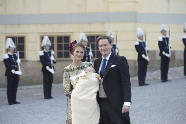 Swedish Royals Turned Out For Prince Nicolas' Christening