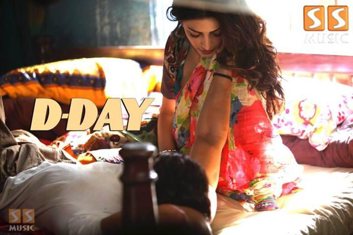 Shruti Hassan DDay movie trailer  South Indian Cinema